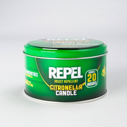Repel Insect Repellent Citronella Candle 10 Oz Target