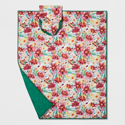 Watercolor Floral Picnic Blanket - Opalhouse™