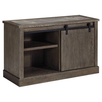 Luxenford Large Credenza Taupe - Signature Design by Ashley