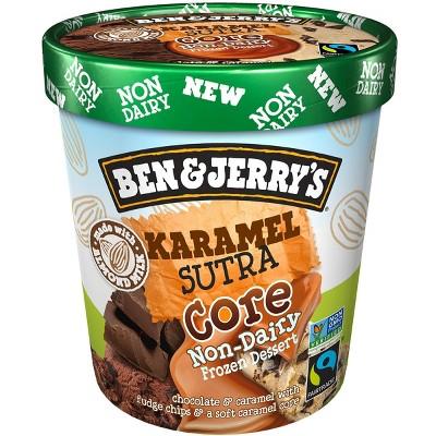 Ben & Jerry's Non Dairy Karamel Sutra Core Frozen Dessert - 16oz