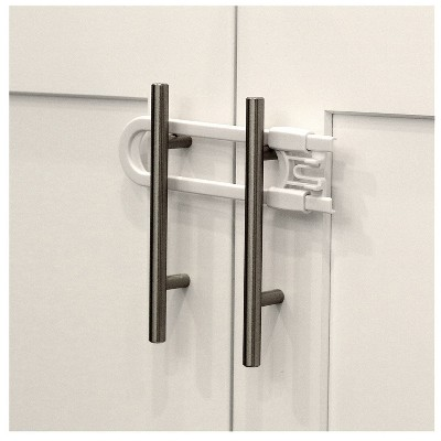 Jool Baby Sliding Cabinet U-locks - 4ct