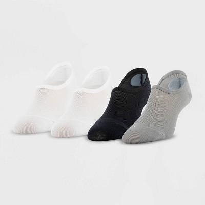 Peds Women's Mesh 4pk Ultra Low Liner Casual Socks 5-10