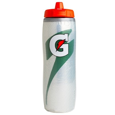 Gatorade 30oz Insulated Squeeze Water Bottle - Gray