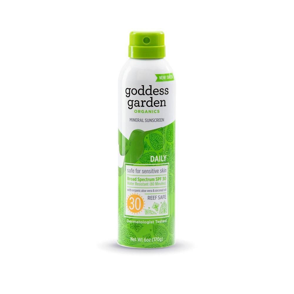 Image of Goddess Garden Mineral Sunscreen Spray - SPF 30 - 3.4oz
