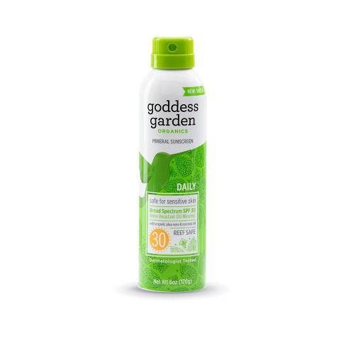 Goddess Garden Mineral Sunscreen Spray - SPF 30 - 3.4oz - image 1 of 2