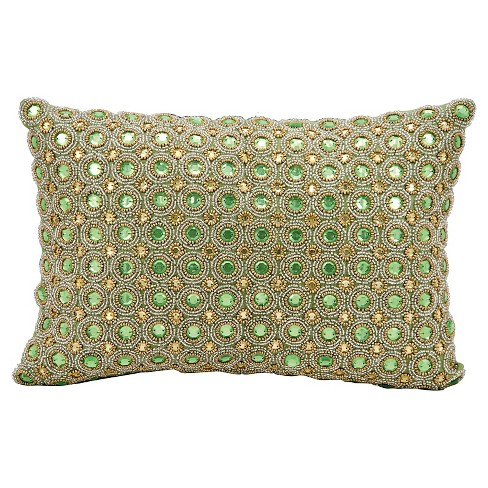 Marble Beads Throw Pillow - Nourison - image 1 of 1