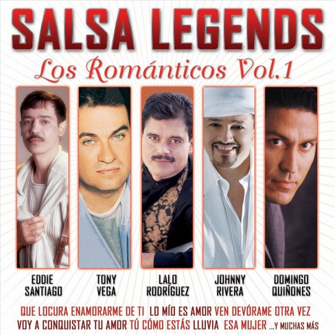 Various Artists - Salsa Legends: Los Romanticos, Vol. 1 (CD) - image 1 of 2