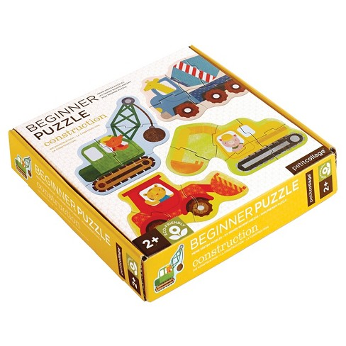 Petit Collage Construction Beginner Puzzle 18pc - image 1 of 3