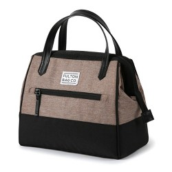 Fulton Bag Co. Lunch Tote - Gingersnap/Black