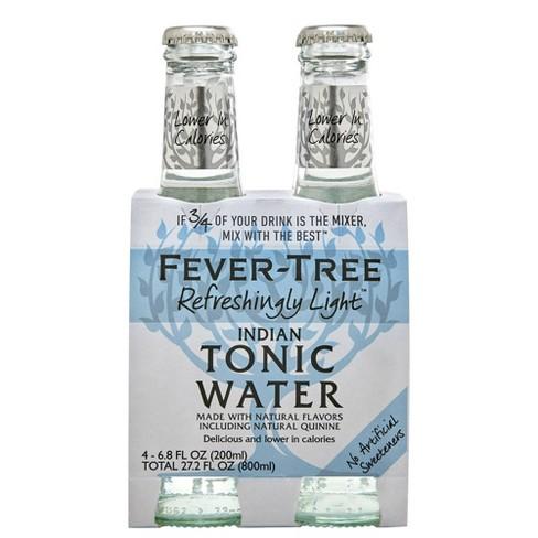 Fever-Tree Refreshingly Light Indian Tonic Water - 4pk/200ml Bottles - image 1 of 3