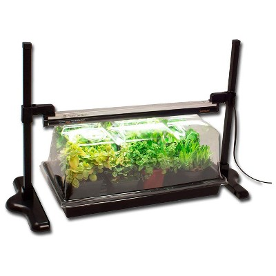 SunBlaster SL1600227 LED Greenhouse Kit for Flower, Herbs, and Veggie Seed Starting or Plant Propagation with 18-Inch NanoDome