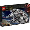 LEGO Star Wars: The Rise of Skywalker Millennium Falcon Building Kit Starship Model with Minifigures 75257 - image 4 of 4