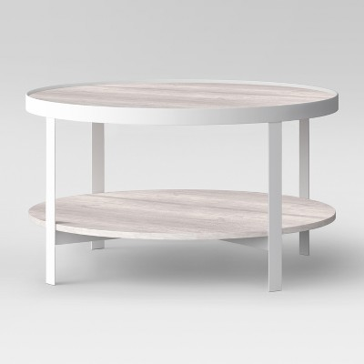 Riehl Metal Round Coffee Table White - Project 62™