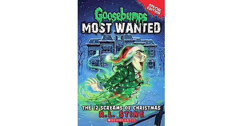 12 Screams of Christmas (Paperback) (R. L. Stine) - image 1 of 1