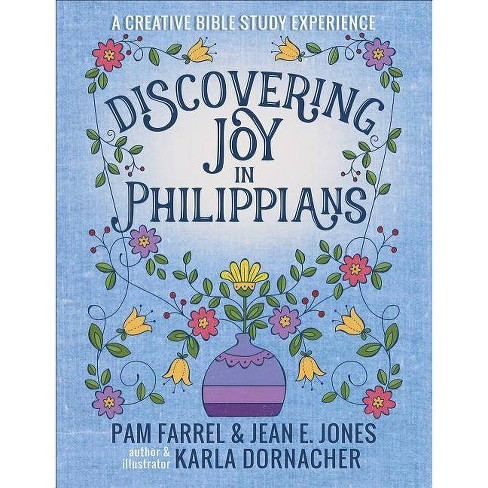 Discovering Joy in Philippians - by  Pam Farrel & Jean E Jones (Hardcover) - image 1 of 1