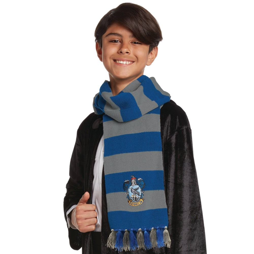 Image of Halloween Harry Potter Ravenclaw Halloween Costume Scarf, Adult Unisex, Red