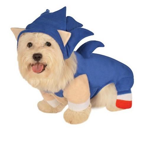 Sonic The Hedgehog Sonic Pet Costume Target