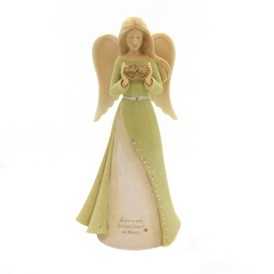 """Foundations 7.0"""" Sister Heart Angel Family Forever  -  Decorative Figurines"""