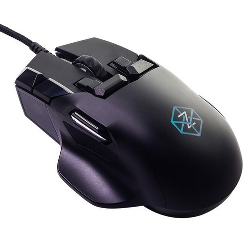 Swiftpoint Z Mouse - PixArt PMW3360 - Cable - Black - USB - 12000 dpi - Scroll Wheel - 18 Button(s) - Right-handed Only - image 1 of 4