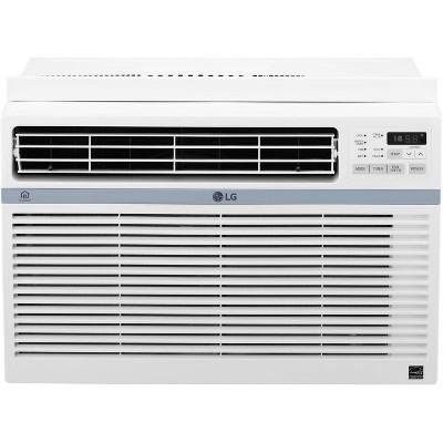 LG Electronics Energy Star 8,000 BTU 115V Window-Mounted Air Conditioner LW8017ERSM with Wi-Fi Control
