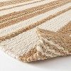 Riverton Hand Woven Striped Area Rug Tan - Threshold™ designed with Studio McGee - image 4 of 4