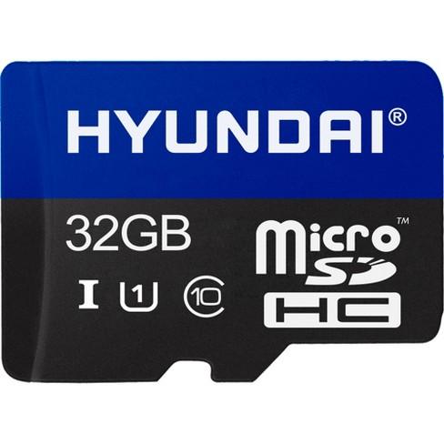 Hyundai 32GB microSDHC - Class 10/UHS-I (U1) - Retail - SDC32GU1 - image 1 of 3