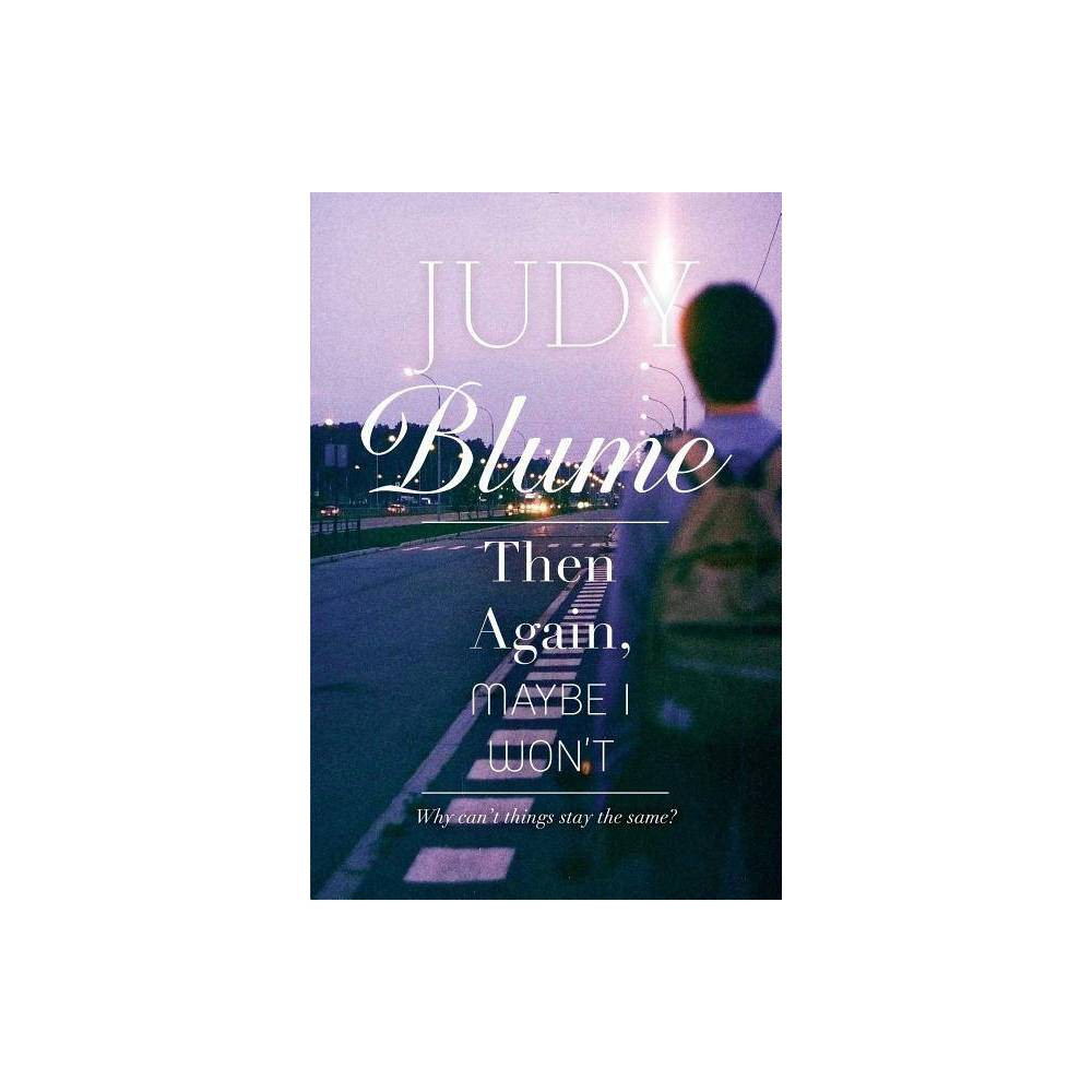 Then Again Maybe I Won T By Judy Blume Paperback
