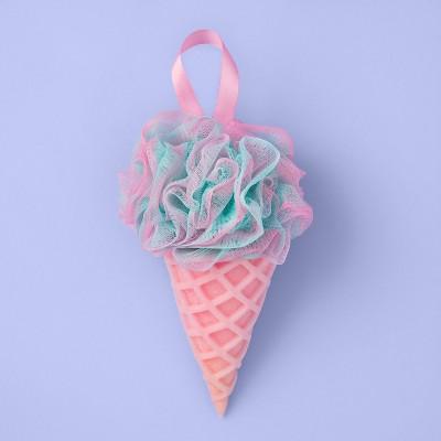 Ice Cream Cone Sponge Or Loofah Combo - More Than Magic™