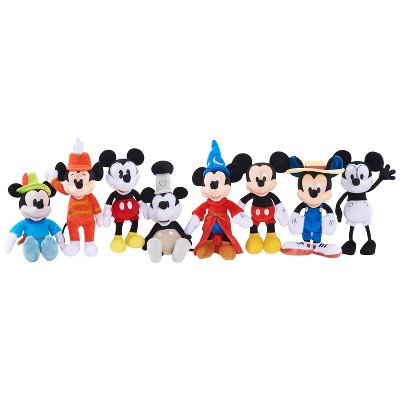 Disney Mickey Mouse Through The Years Plush 8pk by Disney