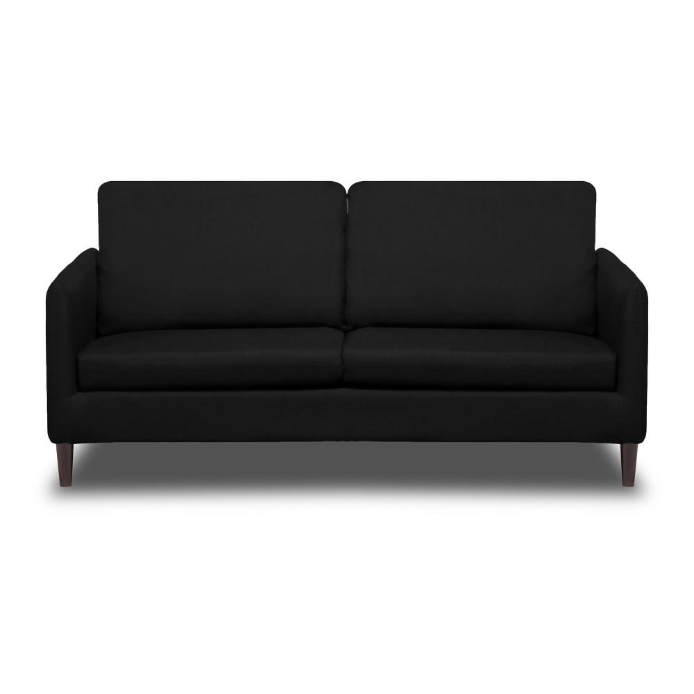 Crosby Sofa Black - Sofas 2 Go