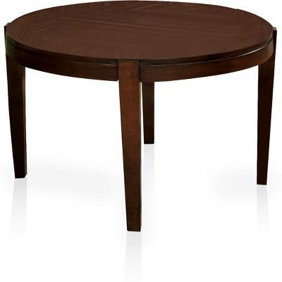 Gentil JohansonSimple Round Dining Table Walnut   Sun U0026 Pine