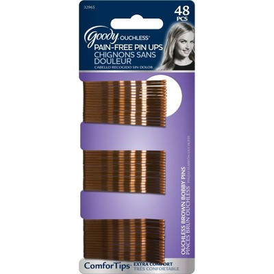Goody Ouchless Brown Bobby Pins - 48ct