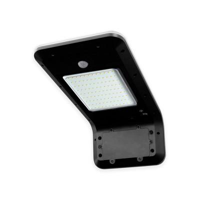 LUXWORX Bright Outdoor Home Security Solar Powered Motion Sensor Floodlight, 108 SMD LEDS, 1000 Lumens