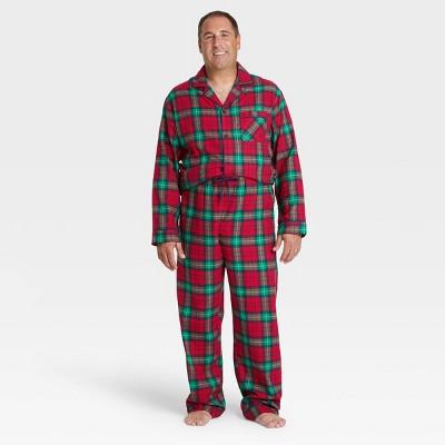 Men's Holiday Plaid Flannel Pajama Set - Wondershop™