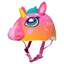 Raskullz Rainbow Unicorn 3D Kids' Bike Helmet
