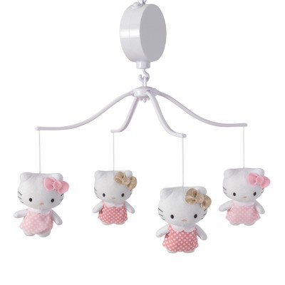 Bedtime Originals Hello Kitty Luv Musical Mobile