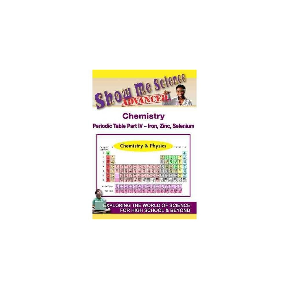 Sms:Chemistry Periodic Table Pt Iv Ir (Dvd)