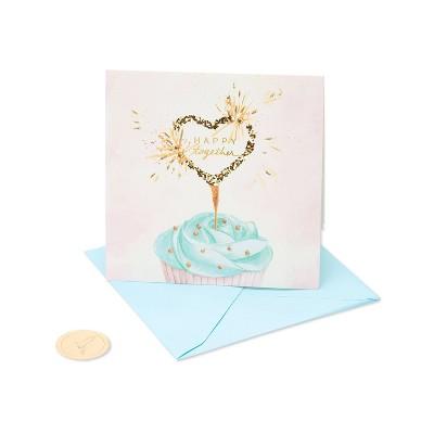 Heart Cupcake Card - PAPYRUS
