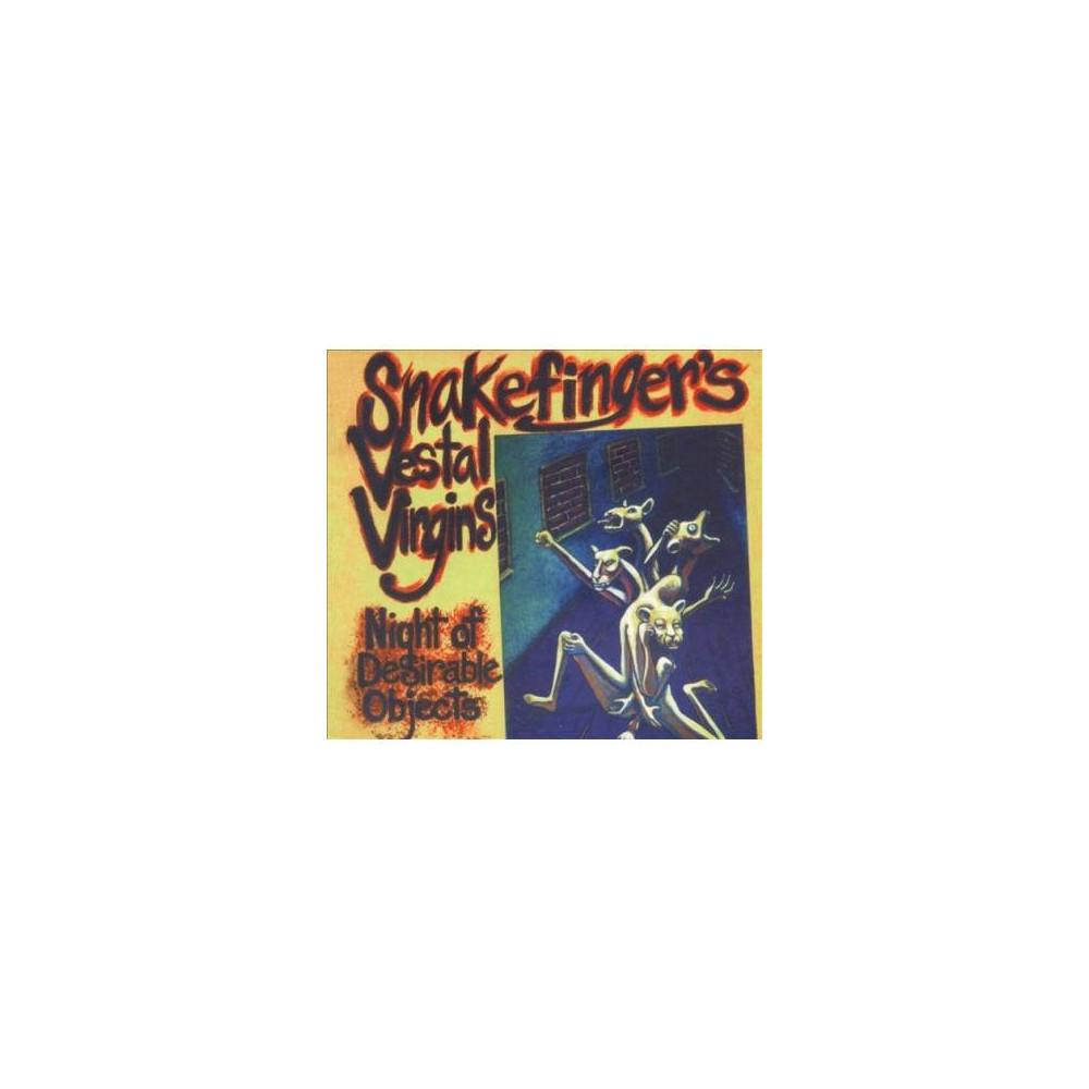 Snakefinger's Vestal - Night Of Desirable Objects (CD)
