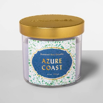 4.1oz Glass Jar Candle Azure Coast - Opalhouse™