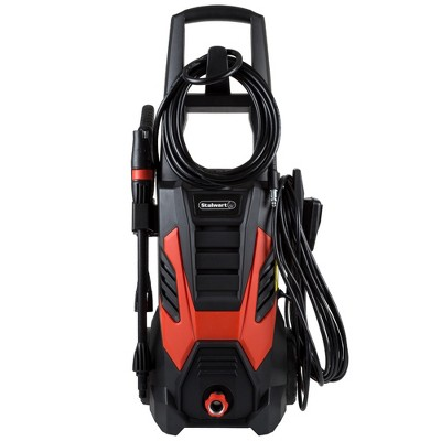 Stalwart Electric Powered 2000 PSI Pressure Washer Black