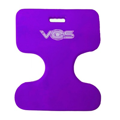 Vos Oasis Water Saddle Swimming Pool Float Lounge Seat for Adults & Kids, Single Rider, Made w/ UV Resistant Foam for Floating, Deep Lavender
