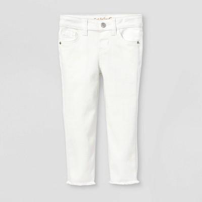 Toddler Girls' Skinny Jeans - Cat & Jack™ White