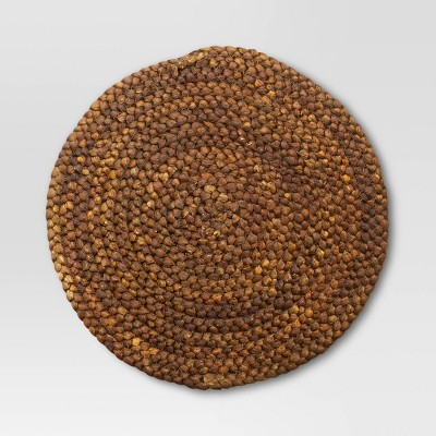 Maize Charger Placemat Brown - Threshold™