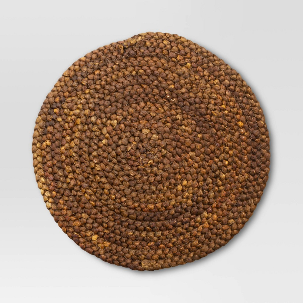 Maize Charger Placemat Brown Threshold 8482