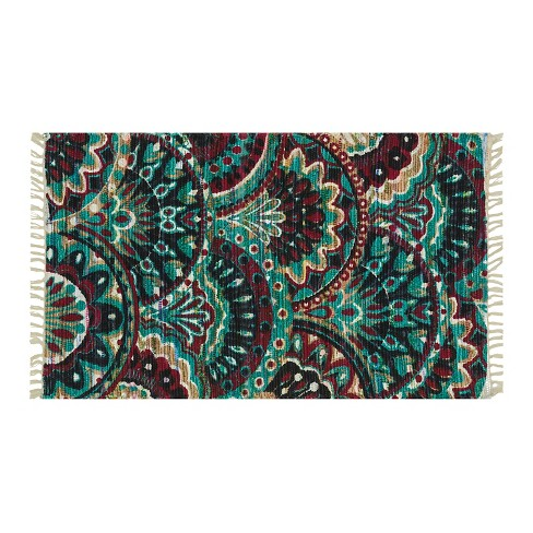 "Loloi Aria Accent Rug - Brown/Green (2'3""X3'9"") - image 1 of 1"