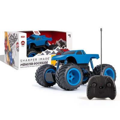 Sharper Image RC Monster Rockslide 1:24  Scale - Blue and White