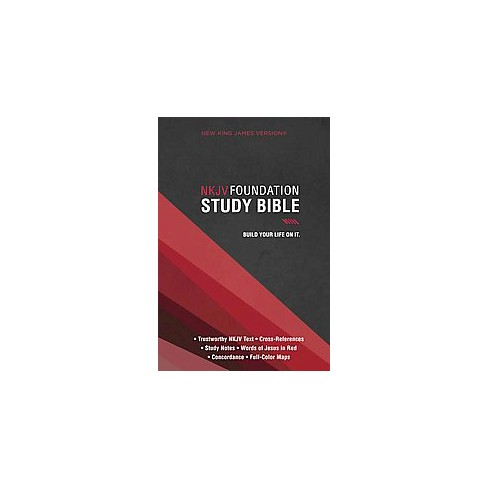 nkjv foundation study bible new king james version hardcover