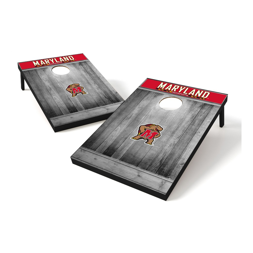 NCAA Maryland Terrapins Tailgate Toss Wood College