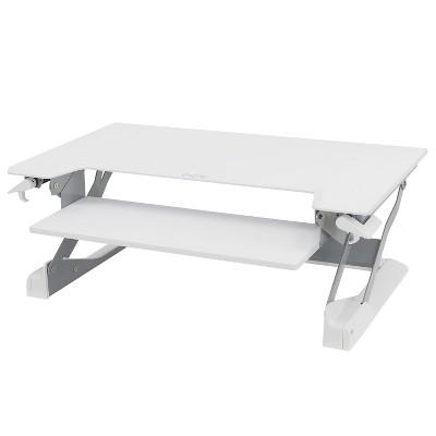 Ergotron WorkFit-TL Desktop Sit-Stand Workstation 37 1/2 x 25 x 20 White 33406062